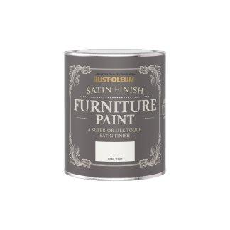 Rust-Oleum Satin Furniture Paint Cotton 750ml