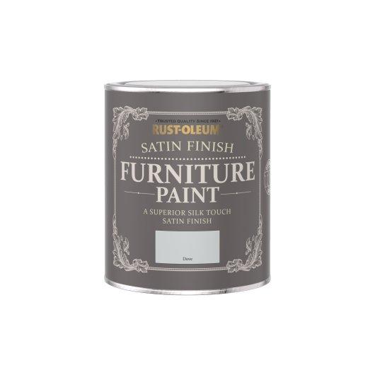 Rust-Oleum Satin Furniture Paint Dove 750ml