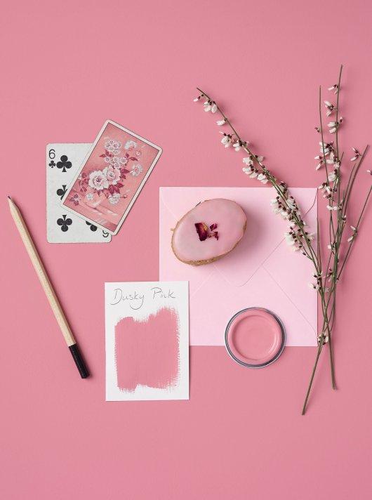 Rust-Oleum Chalky Floor Paint Dusky Pink Matt 2.5L 2