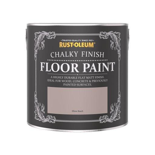 Rust-Oleum Chalky Floor Paint Elbow Beach Matt 2.5L