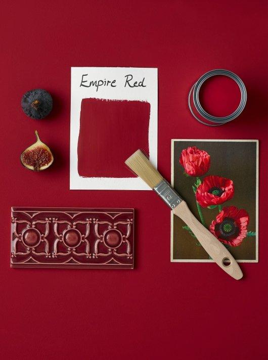 Rust-Oleum Chalky Floor Paint Empire Red Matt 2.5L 2