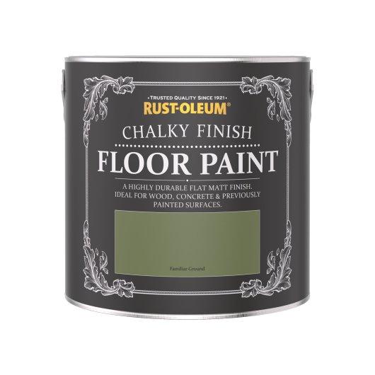 Rust-Oleum Chalky Floor Paint Familiar Ground Matt 2.5L