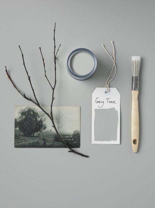 Rust-Oleum Chalky Floor Paint Grey Tree Matt 2.5L 2