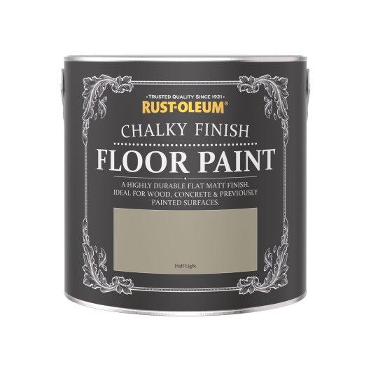 Rust-Oleum Chalky Floor Paint Half Light Matt 2.5L