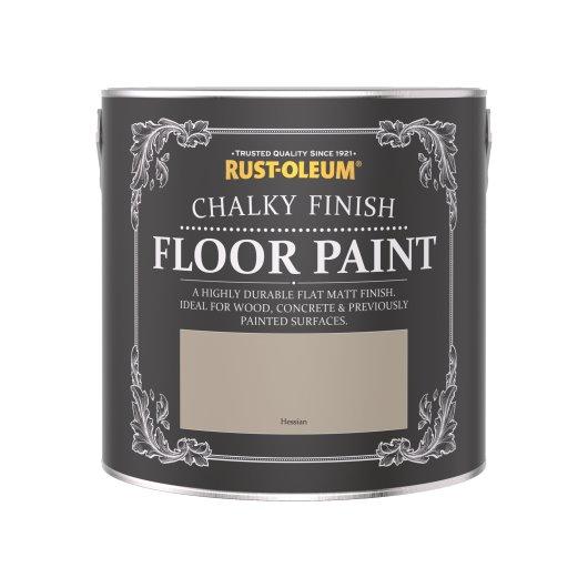 Rust-Oleum Chalky Floor Paint Hessian Matt 2.5L