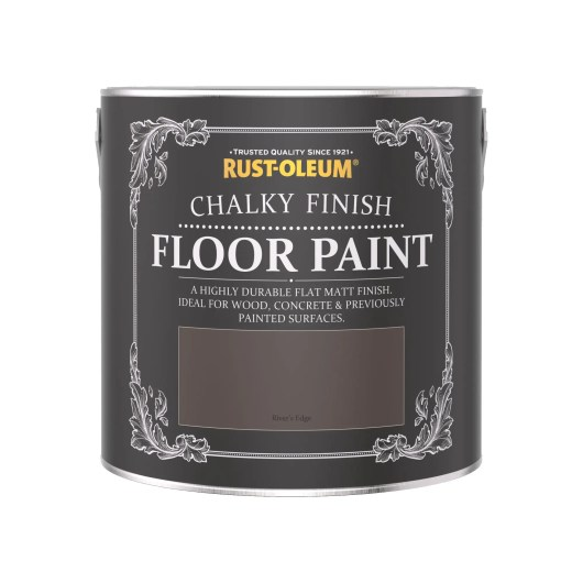 Rust-Oleum Chalky Floor Paint Rivers Edge Matt 2.5L