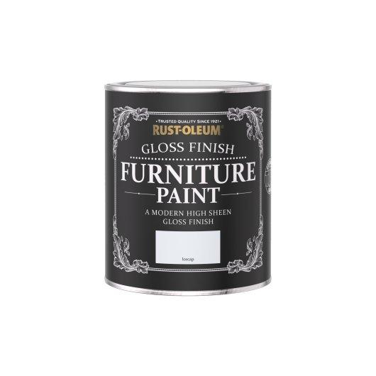 Rust-Oleum Gloss Furniture Paint Icecap 750ml