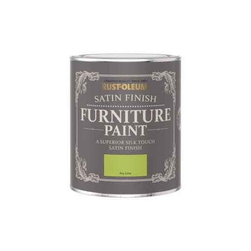 Rust-Oleum Satin Furniture Paint Key Lime 750ml