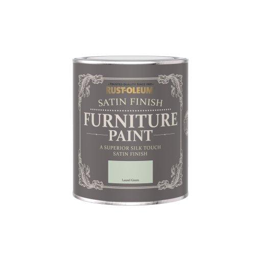 Rust-Oleum Satin Furniture Paint Laurel Green 750ml