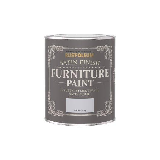 Rust-Oleum Satin Furniture Paint Lilac Rhapsody 750ml