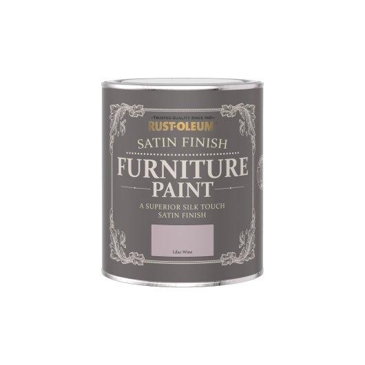 Rust-Oleum Satin Furniture Paint Lilac Wine 750ml