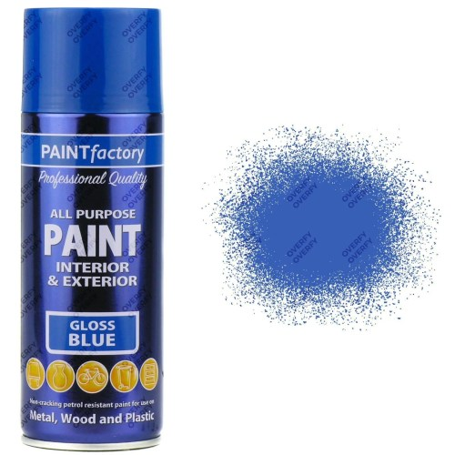 1-x-400ml-All-Purpose-Blue-Gloss-Aerosol-Spray-Paint-Household-Car-Plastic-331938623598