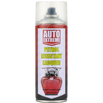 Clear Petrol Resistant Lacquer Gloss Spray Paint 400ml