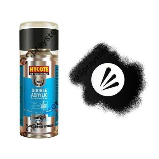 Hycote-BMW-Black-Sapphire-Metallic-Spray-Paint-Enviro-Can-All-Purpose-XDBM602-372679999695