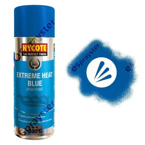 Hycote-Blue-Extreme-Heat-VHT-Spray-Paint-High-Temperature-650C-400ml-XUK1004-392296229364