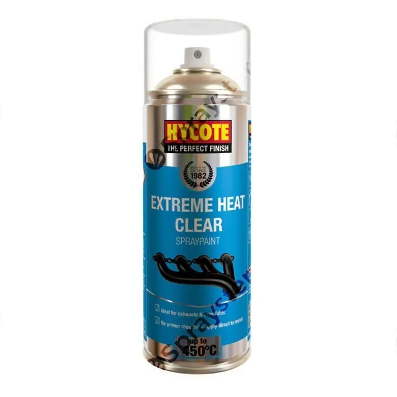 Hycote-Clear-Extreme-Heat-VHT-Spray-Paint-High-Temperature-650C-XUK1011-372669500697