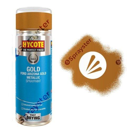 Hycote-Ford-Arizona-Gold-Metallic-Spray-Paint-Auto-Multi-Purpose-400ml-XUK1023-333199094421