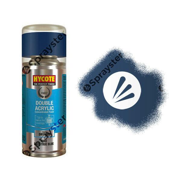 Hycote-Ford-Dark-True-Blue-Gloss-Spray-Paint-Enviro-Can-All-Purpose-XDFD246-392313815804
