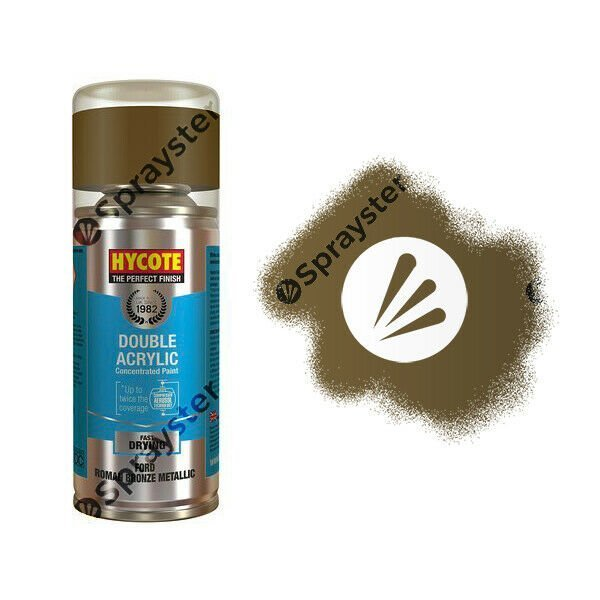 Hycote-Ford-Roman-Bronze-Metallic-Spray-Paint-Enviro-Can-All-Purpose-XDFD108-392308658669