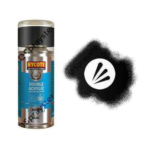 Hycote Volkswagen Deep Black Pearlescent Spray Paint