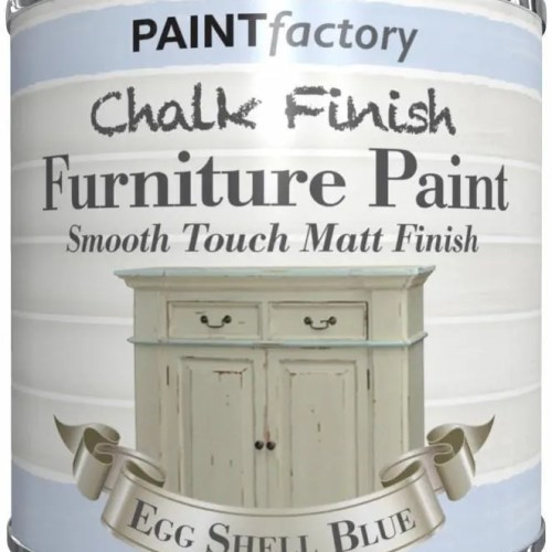 Paint-Factory-Chalk-Chalky-Furniture-Paint-250ml-Eggshell-Blue-Matt-392064596955