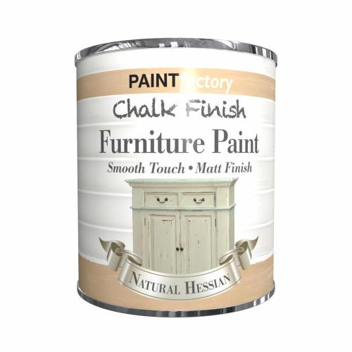 Paint-Factory-Chalk-Chalky-Furniture-Paint-650ml-Natural-Hessian-Matt-392067212636