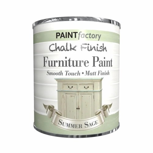 Paint-Factory-Chalk-Chalky-Furniture-Paint-650ml-Summer-Sage-Green-Matt-332690144493