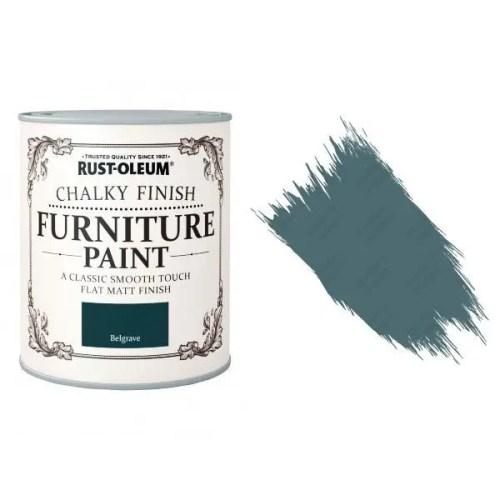 Rust-Oleum-Chalk-Chalky-Furniture-Paint-Chic-Shabby-125ml-Belgrave-Matt-331825010097