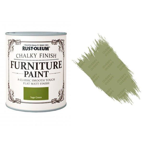 Rust-Oleum-Chalk-Chalky-Furniture-Paint-Chic-Shabby-125ml-Sage-Green-Matt-391428357614