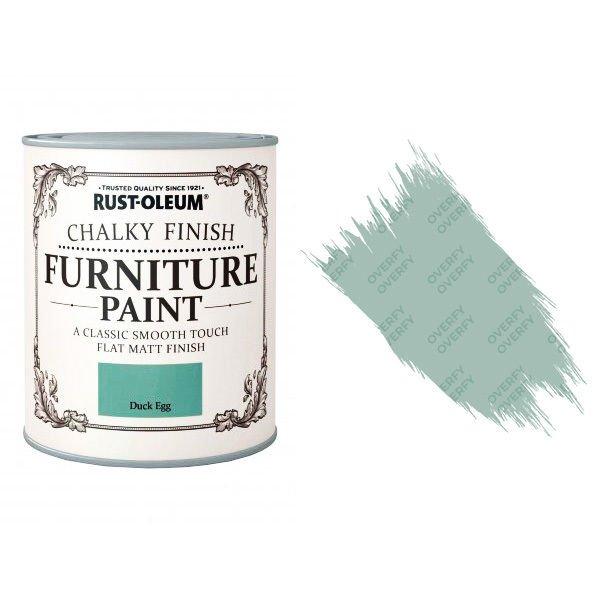 Rust-Oleum-Chalk-Chalky-Furniture-Paint-Chic-Shabby-750ml-Duck-Egg-Matt-371594535331