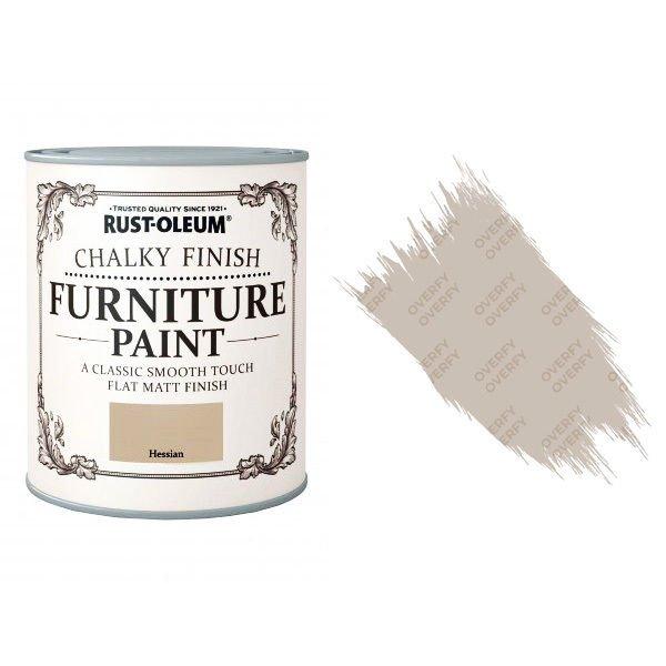Rust-Oleum-Chalk-Chalky-Furniture-Paint-Chic-Shabby-750ml-Hessian-Matt-371594535332