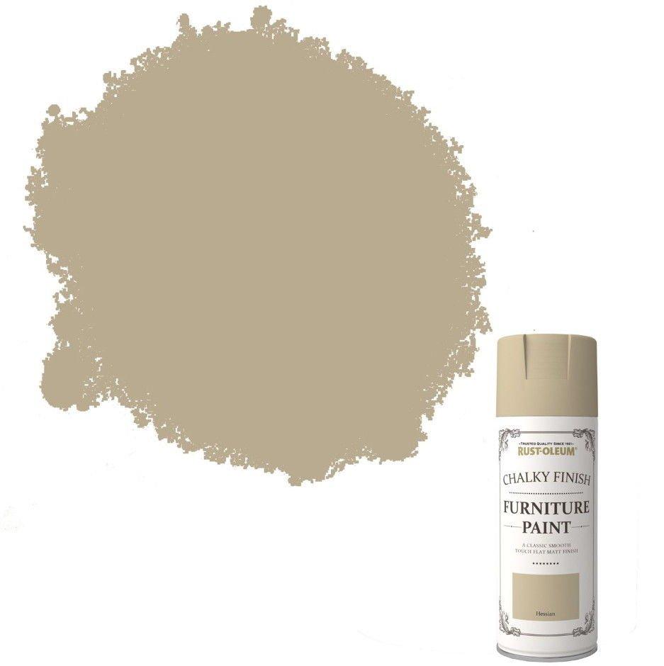 Rust-Oleum-Chalk-Chalky-Furniture-Spray-Paint-Shabby-Chic-400ml-Hessian-Matt-372062573297