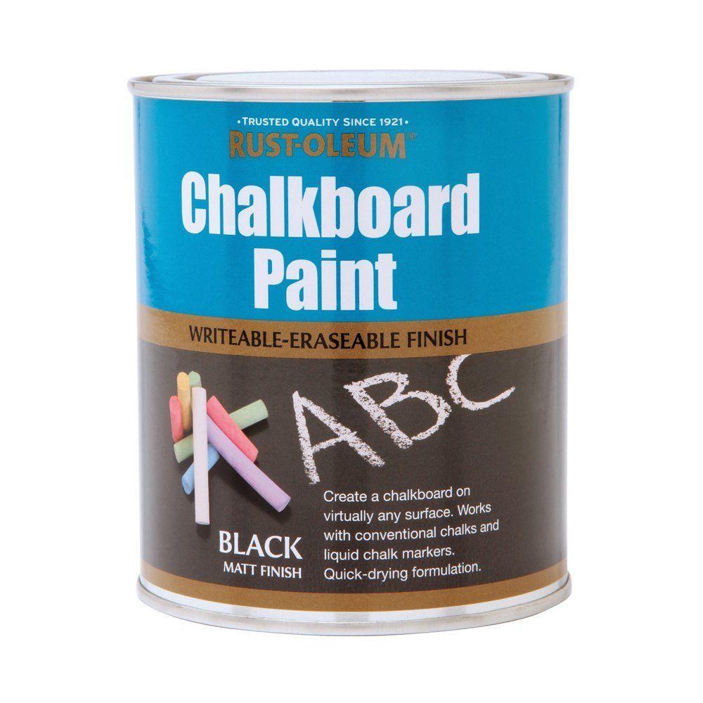 Rust-Oleum Black Matt Chalkboard Paint 2 5L