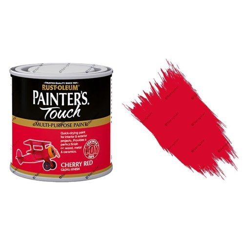 Rust-Oleum-Painters-Touch-Multi-Surface-Paint-Cherry-Red-Gloss-250ml-Toy-Safe-332573157092