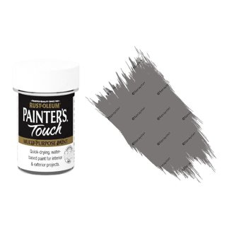 Rust-Oleum-Painters-Touch-Multi-Surface-Paint-Dark-Grey-Gloss-20ml-Toy-Safe-391996255771
