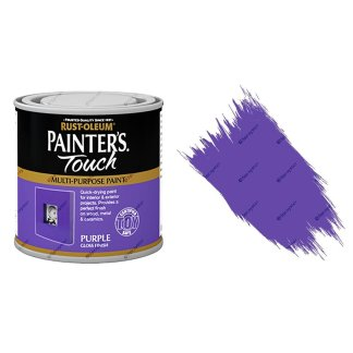 Rust-Oleum-Painters-Touch-Multi-Surface-Paint-Purple-Gloss-250ml-Toy-Safe-391992432275