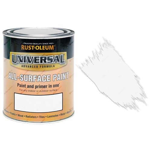 Rust-Oleum-Universal-All-Surface-Self-Primer-Brush-Paint-Gloss-White-250ml-332564274624