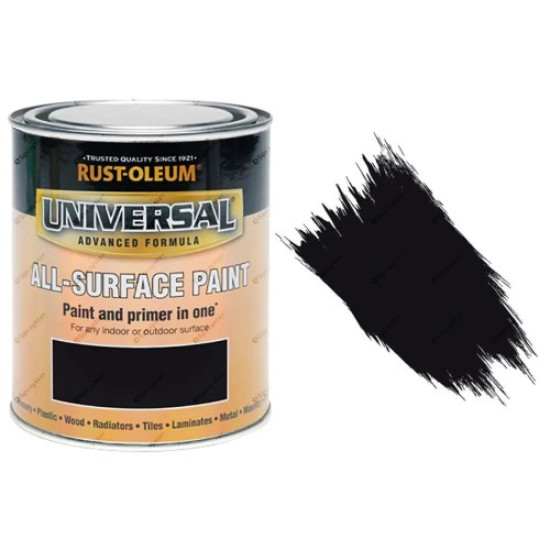 Rust-Oleum-Universal-All-Surface-Self-Primer-Brush-Paint-Satin-Black-750ml-391986107744