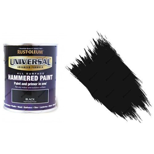Rust-Oleum-Universal-All-Surface-Self-Primer-Paint-Hammered-Finish-Black-750ml-332563353686