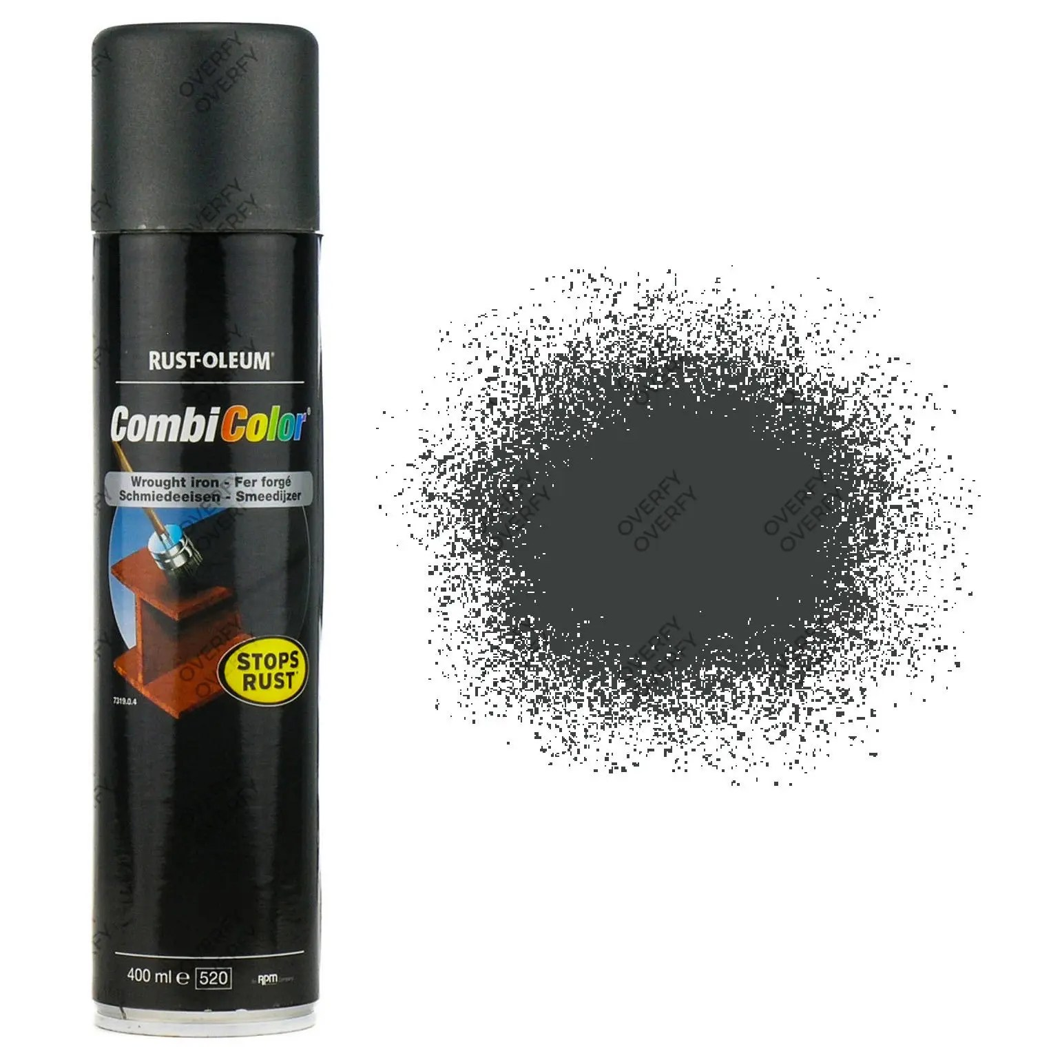 Direct To Rust Gloss Wrought Iron Black Spray Paint Rust Oleum Combicolor Ral9005