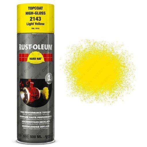 Industrial-Rust-Oleum-Light-Yellow-Spray-Paint-Hard-Hat-500ml-RAL-1018