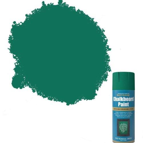 x1-Rust-Oleum-Blackboard-Chalkboard-Aerosol-Spray-Paint-Old-School-Green-Matt-391903398577