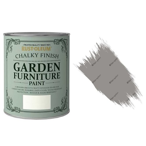 x1-Rust-Oleum-Chalk-Chalky-Garden-Furniture-Brush-Paint-750ml-Anthracite-Matt-332536868128