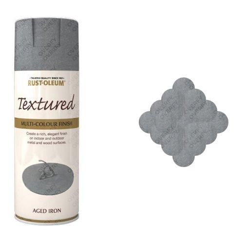 Rust-Oleum Aged Iron Textured Spray Paint 400ml
