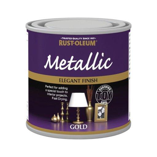 x1-Rust-Oleum-Multi-Purpose-Premium-Brush-Paint-Indoor-Outdoor-Metallic-Gold-372311848251