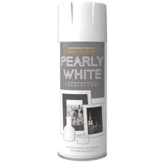 x1-Rust-Oleum-Multi-Purpose-Premium-Spray-Paint-400ml-Metallic-Pearly-White-332363106004
