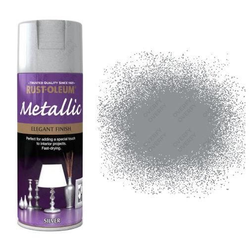 x1-Rust-Oleum-Multi-Purpose-Premium-Spray-Paint-Indoor-Outdoor-Metallic-Silver-331782475856