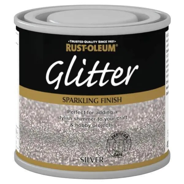 x1-Rust-Oleum-Sparkling-Silver-Glitter-Durable-Toy-Safe-Brush-Paint-125ml-392022539335