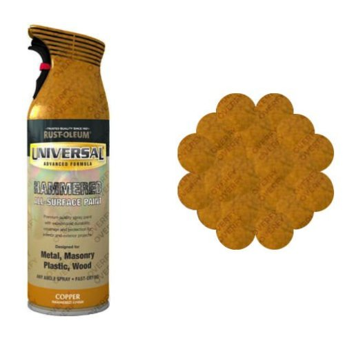 Rust-Oleum Hammered Copper Universal Spray Paint 400ml