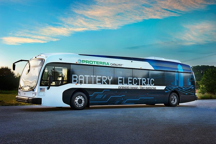 Proterra Catalyst E2 Bus Covers 350 Miles On Single Charge